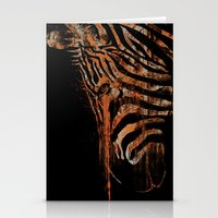 Zebra Mood Stationery Cards