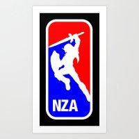 National Zelda Association (Link / Major League / Mashup / Parody) Art Print