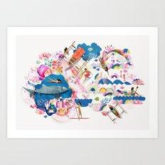 Dagat Art Print
