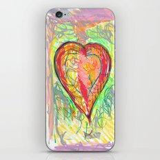 torn heart iPhone & iPod Skin