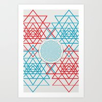 Geometrical 001  Art Print