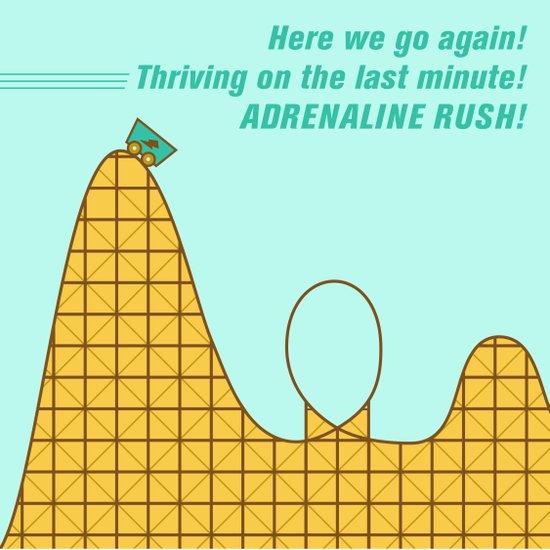 Adrenaline Rush Art Print