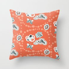 Fluttersky Throw Pillow