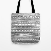 Mad Scribbles  Tote Bag