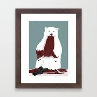 santa? Framed Art Print