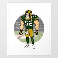 Green Bay Packers Art Print