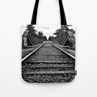 Railway bridge Tote Bag