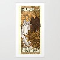 Bride Art Print