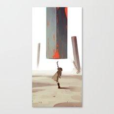 Loud Sunshine Canvas Print