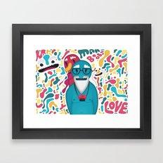 Moobies Framed Art Print