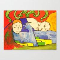 Embraceable You Canvas Print