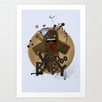Voodoo Baby Art Print
