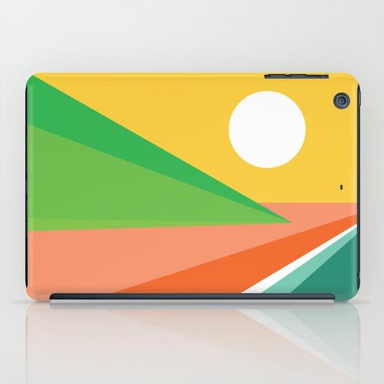 The beach iPad Case