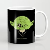 StarWars May the Force be with you (green vers.) Mug
