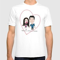 Rebecca Black And Simon … Mens Fitted Tee White SMALL