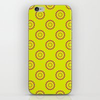 Dotted Flowers iPhone & iPod Skin