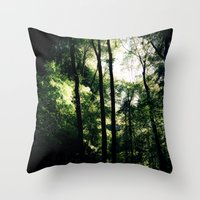 Inside the Cave Throw Pillow