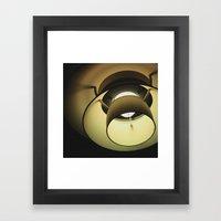 :: lighten up :: Framed Art Print