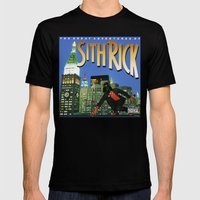 Sith Rick Mens Fitted Tee Black SMALL