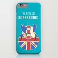iPhone & iPod Case featuring Supersonic by Igor Miná