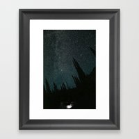 Wallowa Mountain Sky Framed Art Print