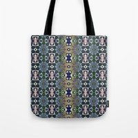 Emerald, Gold and Lapis Tote Bag