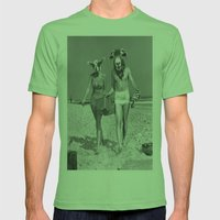 Sheeple ppl Mens Fitted Tee Grass SMALL