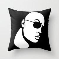 The Rock Dwayne Johnson  Throw Pillow