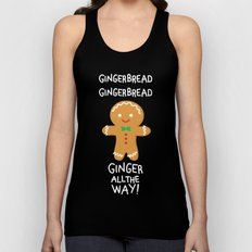 Gingerbread Unisex Tank Top