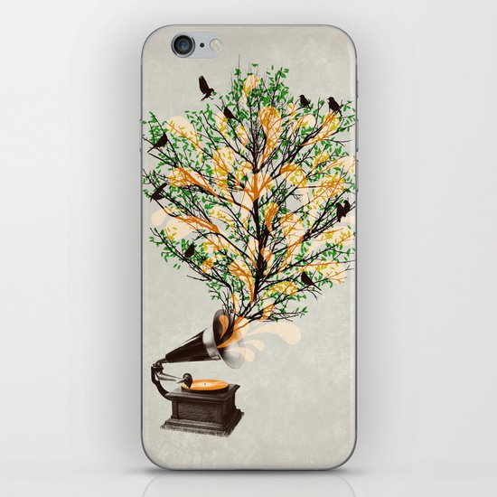 Sound of Nature iPhone & iPod Skin