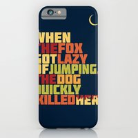 That Lazy Fox iPhone 6 Slim Case