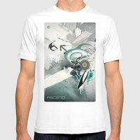 Ascend Mens Fitted Tee White SMALL