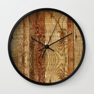 Wood Photography Wall Clock