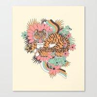 Frolic! Canvas Print