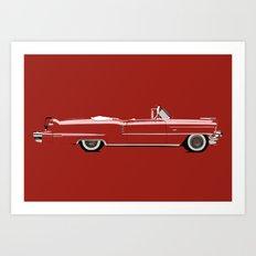 1956 CADILLAC Art Print