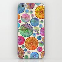 Coctail Umbrellas - Summer Memories iPhone & iPod Skin