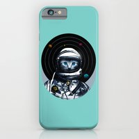 iPhone & iPod Case featuring Space Kitten (white ver.) by Steven Toang