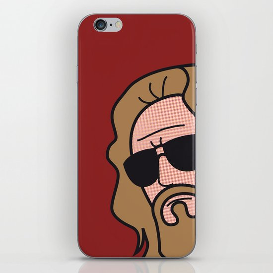 Pop Icon - The Dude iPhone & iPod Skin