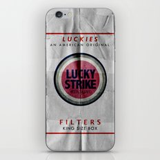 Vintage Lucky Strike Carton iPhone & iPod Skin