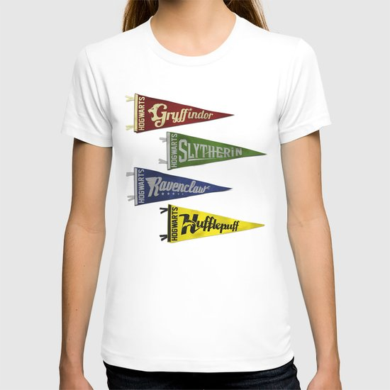 Vintage Hogwart's Pennant Collection T-shirt