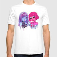 Blob & Ice Girl Mens Fitted Tee White SMALL
