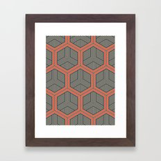 Hexagon No. 1 Framed Art Print