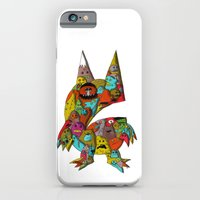 monster iPhone & iPod Cases featuring MONSTER by Tyson Bodnarchuk