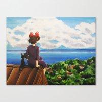 Kiki's dream Canvas Print
