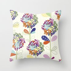 Floral Pattern #50 Throw Pillow