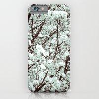Winter Petals iPhone 6 Slim Case