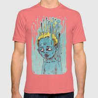 The Blue Boy with Golden Hair Mens Fitted Tee Pomegranate SMALL