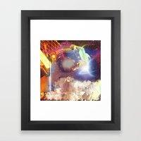 Spacer Framed Art Print
