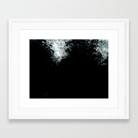 Inside the Fountain Framed Art Print