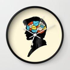 Doctor Phrenology Wall Clock